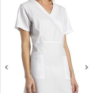 White nursing pinning dress from graduation